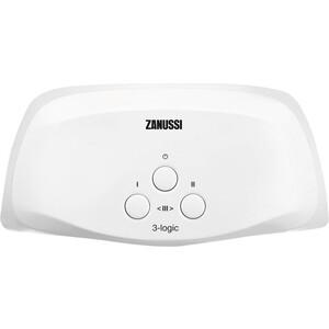 Электрический проточный водонагреватель Zanussi 3-logic 5,5 T (кран)