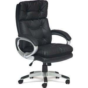 Офисное кресло TetChair PERSONA, кож/зам + ткань, черный