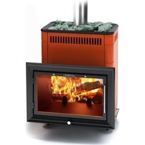 Фотография товара печь для бани и сауны Термофор Витрувия Inox терракот (638191)
