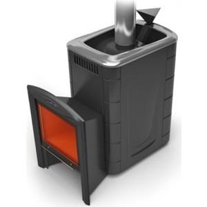 Печь для бани и сауны Термофор Гейзер 2014 Inox Витра антрацит сауны бани и оборудование valentini набор для сауны fantasy