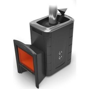 все цены на Печь для бани и сауны Термофор Гейзер 2014 Inox Витра антрацит со встроенным теплообменником онлайн