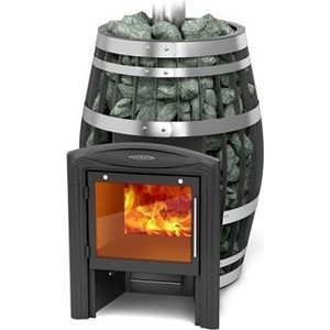 Печь для бани и сауны Термофор Саяны XXL Inox Витра со встроенным теплообменником печь для бани и сауны термофор гейзер 2014 inox витра антрацит
