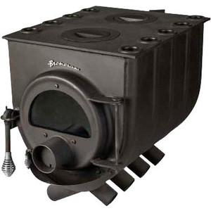 Отопительная печь Бренеран АОТ-08 т005 плита с 2 конфорками дверца со стеклом отопительная печь бренеран аот 08 т005 плита с 2 конфорками