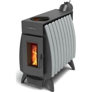 купить Отопительная печь Термофор Огонь-Батарея 9 антрацит-серый металлик недорого