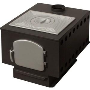 цена Отопительная печь Профессоръ Бутаковъ EZ Гимназист-2 EZ с чугуной варочной плитой