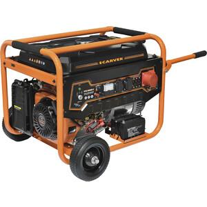 Генератор бензиновый Carver PPG-8000E-3 генератор бензиновый zenith zh7000 3