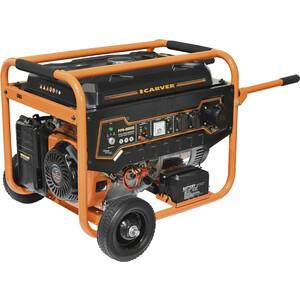 Генератор бензиновый Carver PPG-8000E переходник для мотобура ag 252 200 carver 01 003 00023
