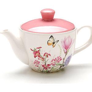 Заварочный чайник 0.9 л Loraine Бабочки (LR-25638)