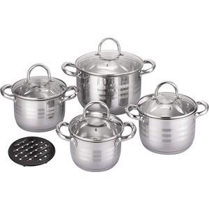 Набор посуды 9 предметов Bekker (BK-2882) набор посуды bekker bk 3618