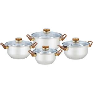 Набор посуды 8 предметов Bekker Classic (BK-4604) набор посуды 8 пр bekker 8 марта женщинам