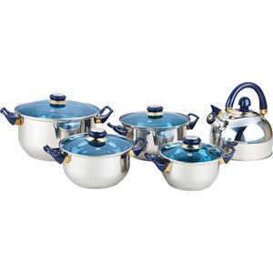 Набор посуды 9 предметов Bekker Classic (BK-4605) набор посуды bekker jumbo вк 962