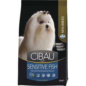 Сухой корм Farmina CIBAU Sensitive Fish Mini Breed с рыбой для взрослых собак мелких пород 2,5кг (30962)