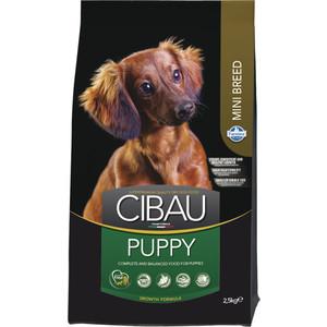 Сухой корм Farmina CIBAU Puppy Mini Breed для щенков мелких пород 2,5кг (30948) корм сухой ontario puppy mini для щенков мелких пород с ягненком и рисом 750 г