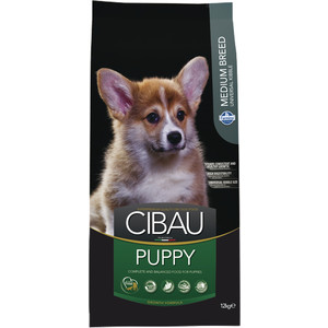 Сухой корм Farmina CIBAU Puppy Medium Breed для щенков средних пород 12кг (31020)  корм сухой для щенков средних пород eukanuba puppy medium breed