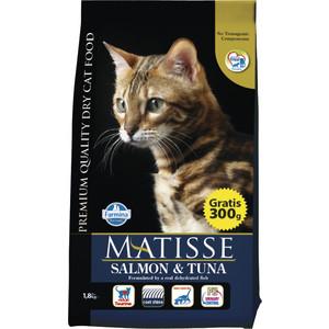 Сухой корм Farmina MATISSE Salmon & Tuna с лососем и тунцом для взрослых кошек 1,5кг (32096)