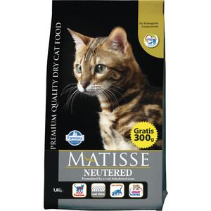 Сухой корм Farmina MATISSE Neutered для стерилизованных кошек 10кг (25050)