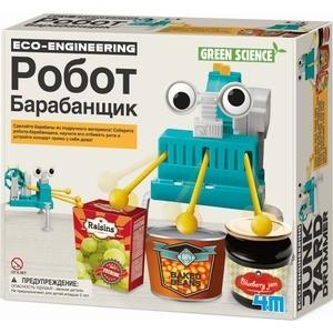 4M Конструктор Робот барабанщик (00-03372) 4m робот художник 00 03280