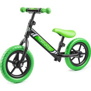 Small Rider Детский беговел Tornado, черно-зеленый (1244231/цв 1244240)