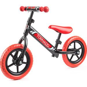 Small Rider Детский беговел Tornado, черно-красный (1244231/цв 1244236)