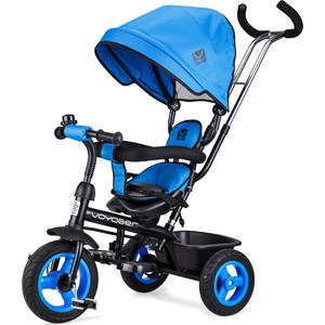 Small Rider Детский трехколесный велосипед Voyager, синий (1224957/цв 1269046)  small rider детский трехколесный велосипед voyager желтый 1224957 цв 1269025