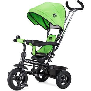Small Rider Детский трехколесный велосипед Voyager, зеленый (1224957/цв 1224969) самокат детский razor t3 трехколесный цвет салатовый голубой черный
