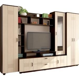 Гостиная Стиль Стиль 7+шкаф венге/клен шкаф для офиса bonawentura 20шбз 26 венге темный