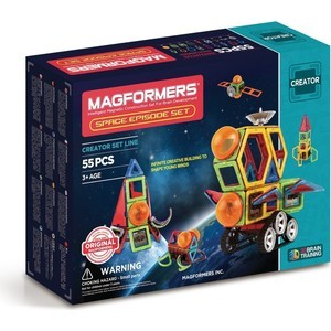 Магнитный конструктор Magformers Space Episode set (703014)