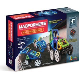 Магнитный конструктор Magformers R/C Cruiser Set (707003 (63091))