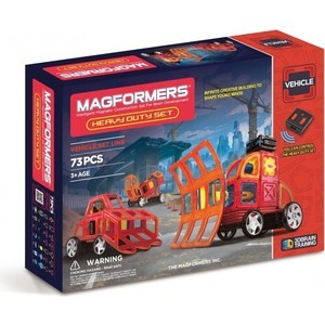 Магнитный конструктор Magformers Heavy Duty Set (707007 (63139)) magformers tiny friends