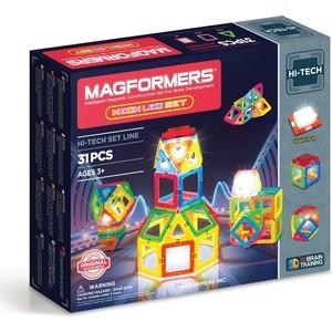 Магнитный конструктор Magformers Neon Led set (709007)