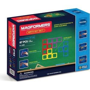 Магнитный конструктор Magformers Увлекательная Математика (учебное пособие в комплекте) (711002 (63109)) математика учебное пособие