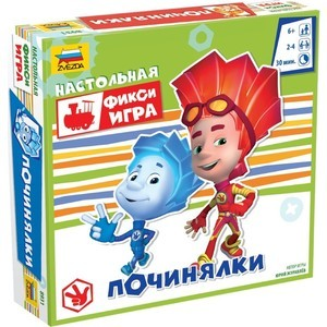 Настольная игра Zvezda Фиксики. Починялки (8931)