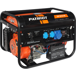 Генератор бензиновый PATRIOT GP 6510AE patriot gp 6510