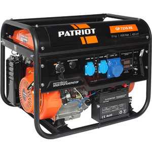 Генератор бензиновый PATRIOT GP 7210AE patriot gp 3810le