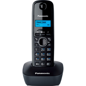 Радиотелефон Panasonic KX-TG1611RUH телефон ip panasonic kx nt553rub черный