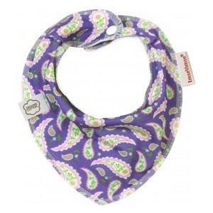 ImseVimse Нагрудник Bandana, purple paisley (130214)