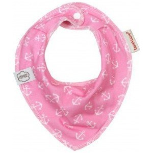 ImseVimse Нагрудник Bandana, pink anchor (130216)