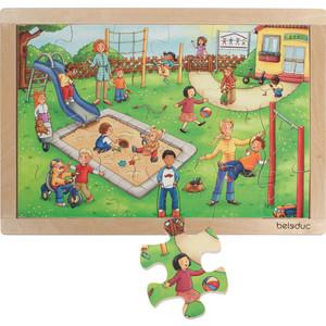 Beleduc Развивающий Пазл Детский сад (12001)