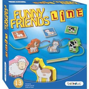 Beleduc Развивающая игра ''Веселые друзья'' (22416)