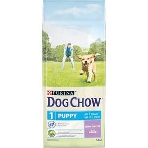 Сухой корм DOG CHOW Puppy with Lamb с ягненком для щенков 14кг (12308575)