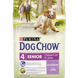 Сухой корм DOG CHOW Senior 9+ with Lamb с ягненком для пожилых собак старше 9 лет 2,5кг (12308782)
