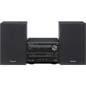 Музыкальный центр Panasonic SC-PM250EE-K panasonic cd players sc ua3gs k vinyl cd player portable music center cassette player radio boombox