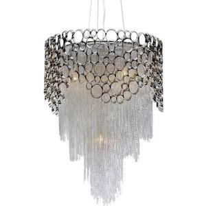 Подвесной светильник Crystal Lux Hauberk Sp-PL8 D60 люстра crystal lux fontain sp8