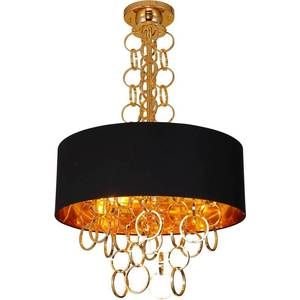 Подвесная люстра Crystal Lux Hilton SP6 Gold люстра ideal lux hilton hilton sp6 round nero