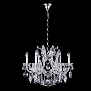 Подвесная люстра Crystal Lux Hollywood SP6 Chrome люстра crystal lux fontain sp8