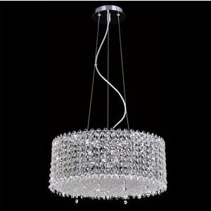 Подвесной светильник Crystal Lux Eternidat SP6 Chrome цена и фото