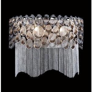 Настенный светильник Crystal Lux Hauberk AP2 накладной светильник crystal lux mallorca ap2 chrome smoke
