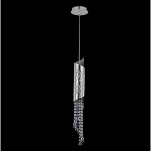 Фотография товара подвесной светильник Crystal Lux Credo SP1 Chrome (639879)