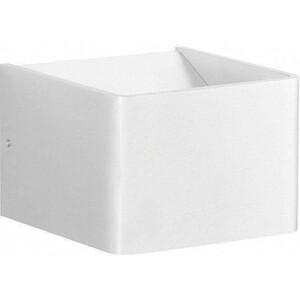 Настенный светодиодный светильник Crystal Lux CLT 010W100 WH crystal lux бра crystal lux clt 511w425 gr