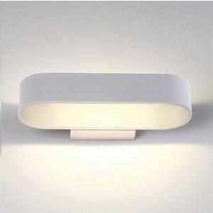 Настенный светодиодный светильник Crystal Lux CLT 511W260 WH настенный светильник crystal lux clt 511w425 wh